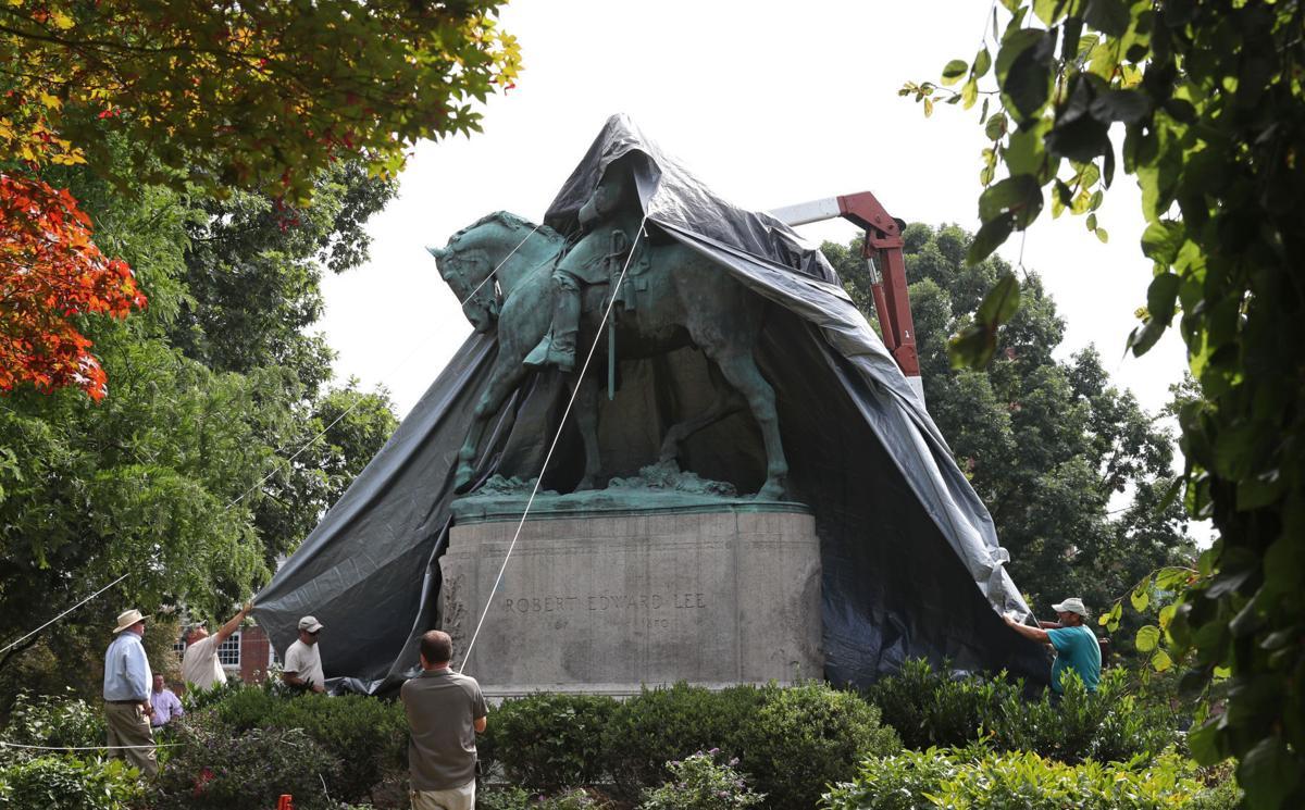 R.E. Lee Statue