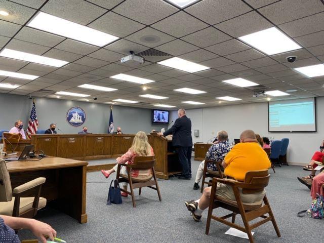 Roanoke County School board meeting
