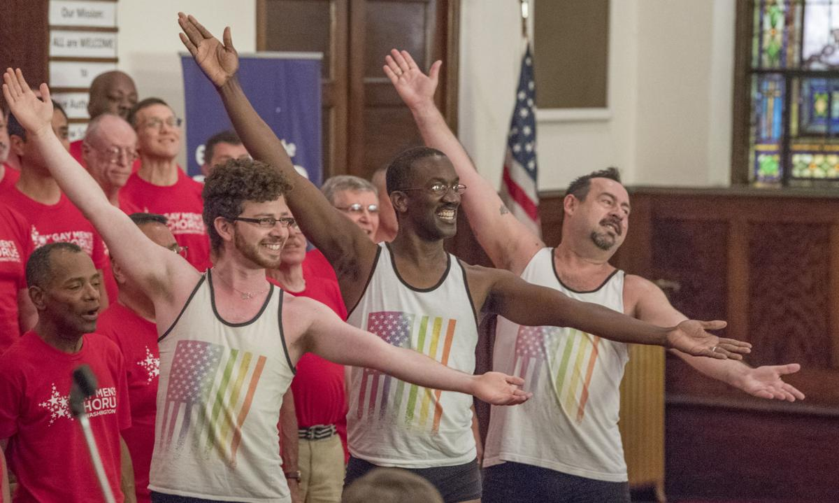 roanoke single gay men Click here to view this item from roanokecom  james ellzy and ivan' davilla perform a routine as the finale sunday for the gay men's chorus of washington, .