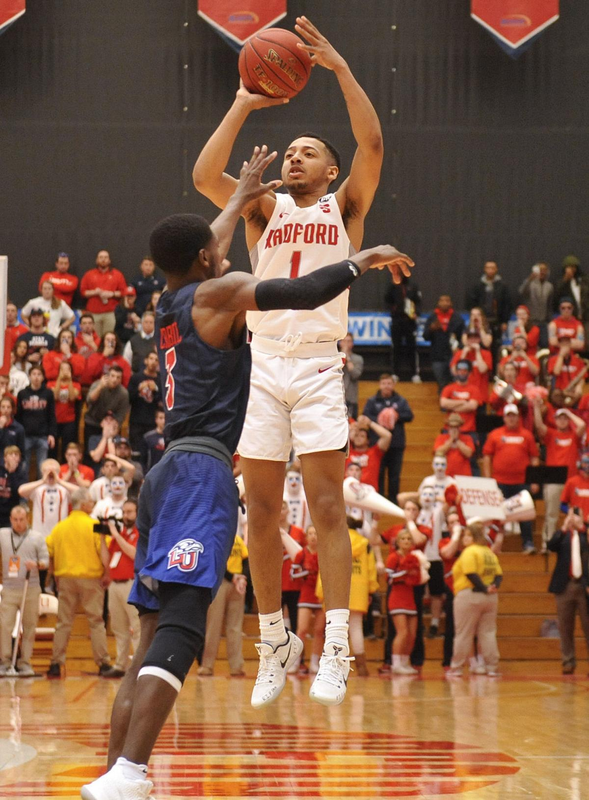 Scenes From The Big South Mens Basketball Tournament Final At Radford Photo Roanoke Com