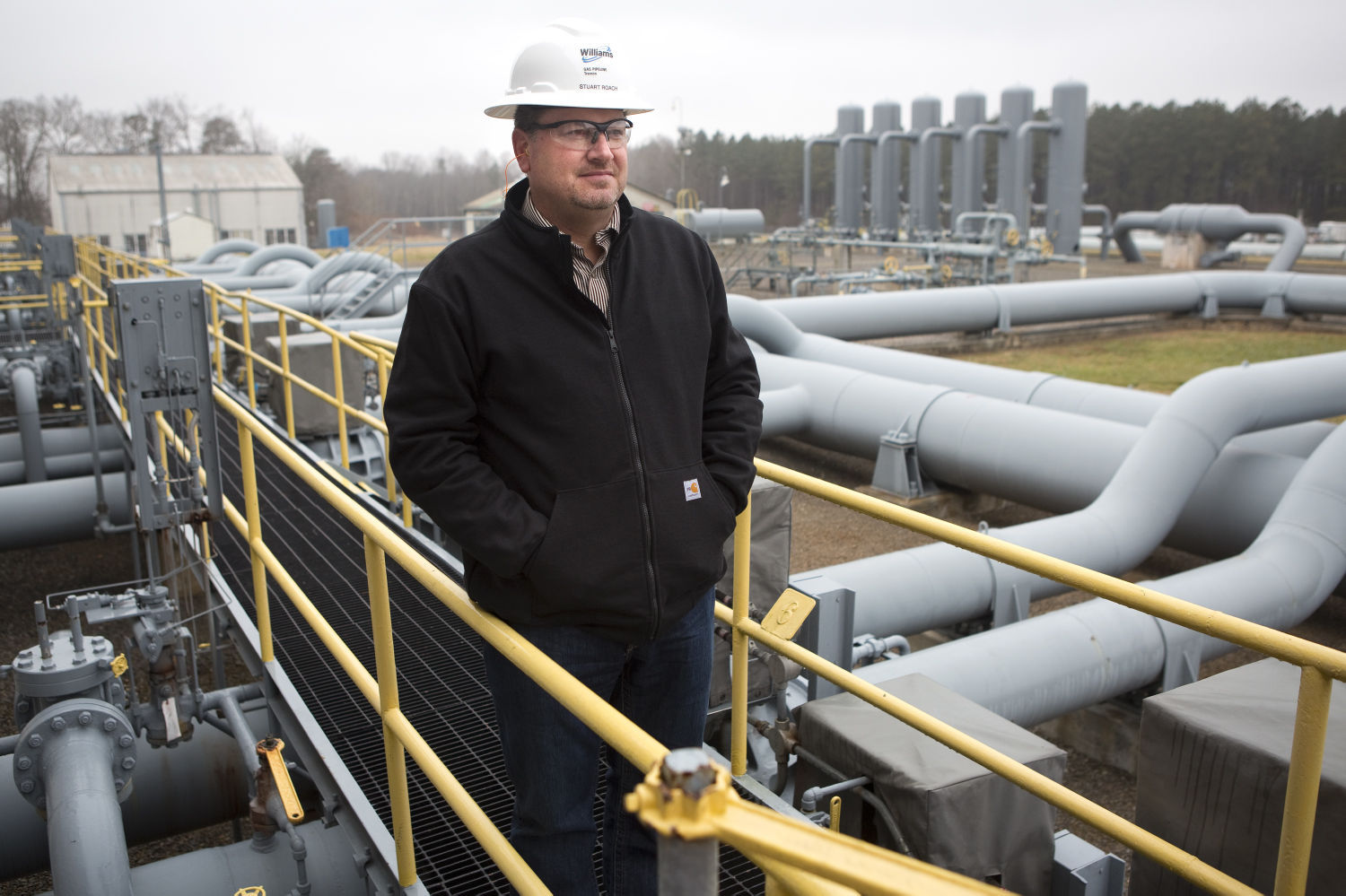 Natural gas compressor station worries possible neighbors
