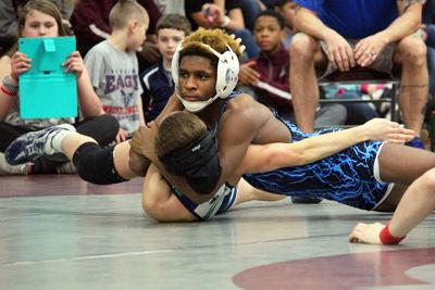 Tyress Wade looks to end Fleming wrestling's long dry spell