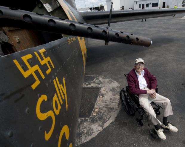 Visiting B 17 Flying Fortress Carries Load Of History