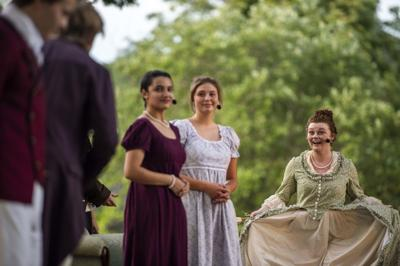 Pride and Prejudice at Point of Honor: City on a Hill Youth Theatre group holds first outdoor performance