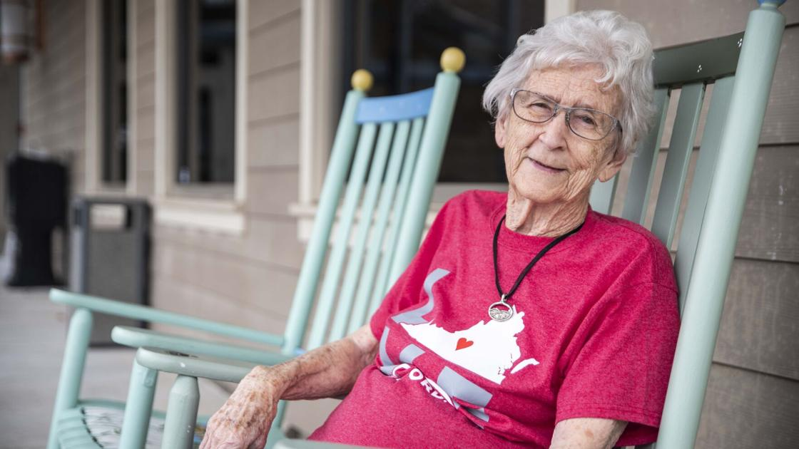 At 95, Bedford native continues spreading love of her hometown