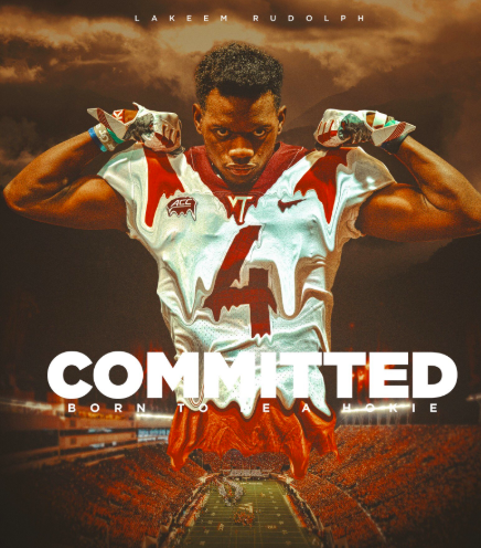 Virginia Tech Lands Verbal Commit From In State Defensive Back Lakeem Rudolph Sports Roanoke Com