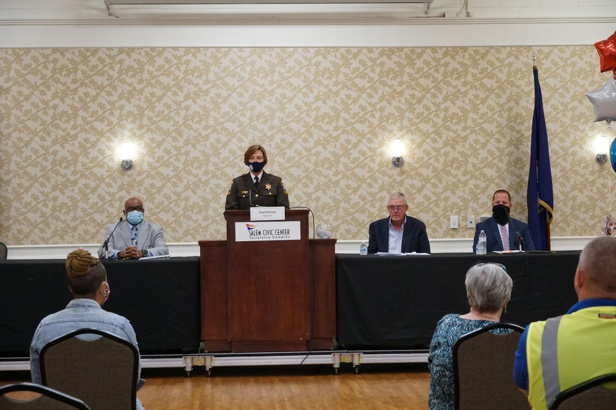 Salem sheriff's forum