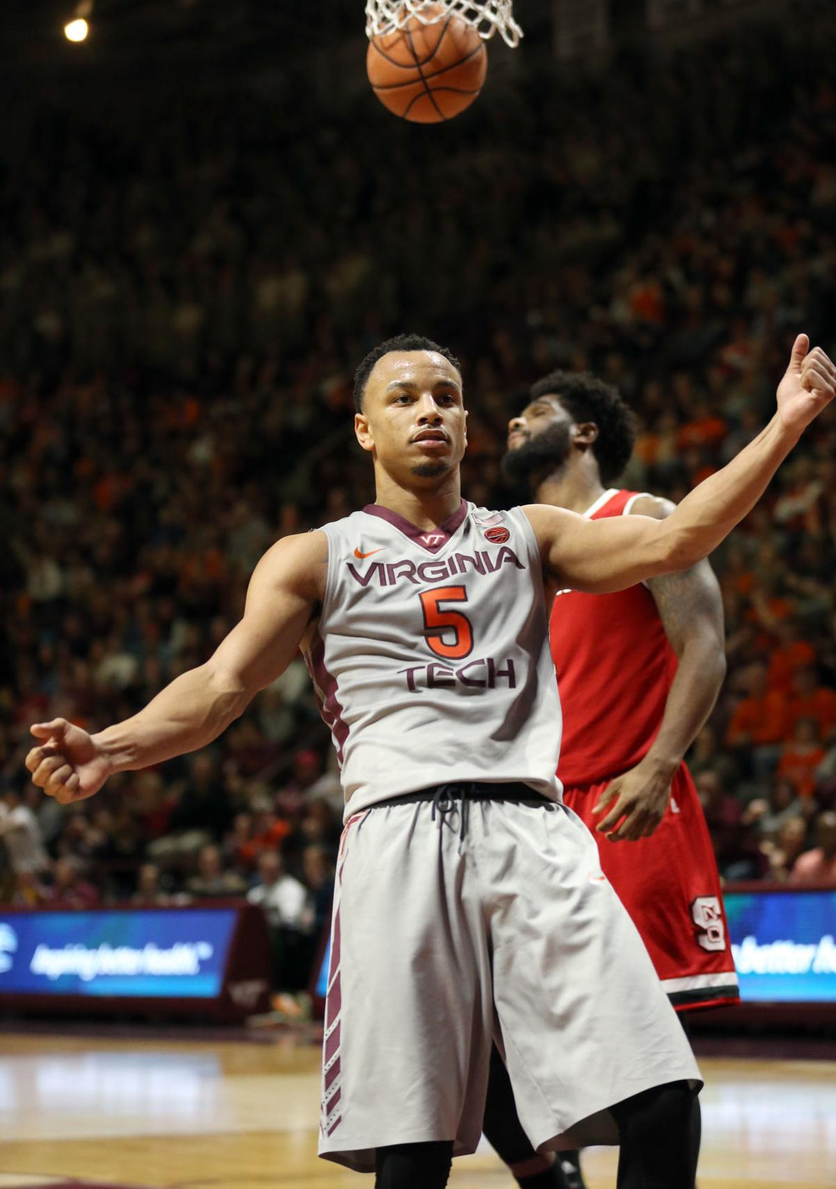 Virginia Tech's Justin Robinson makes All-ACC second team ...