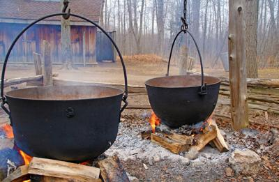 Tapping into the origins of making maple syrup