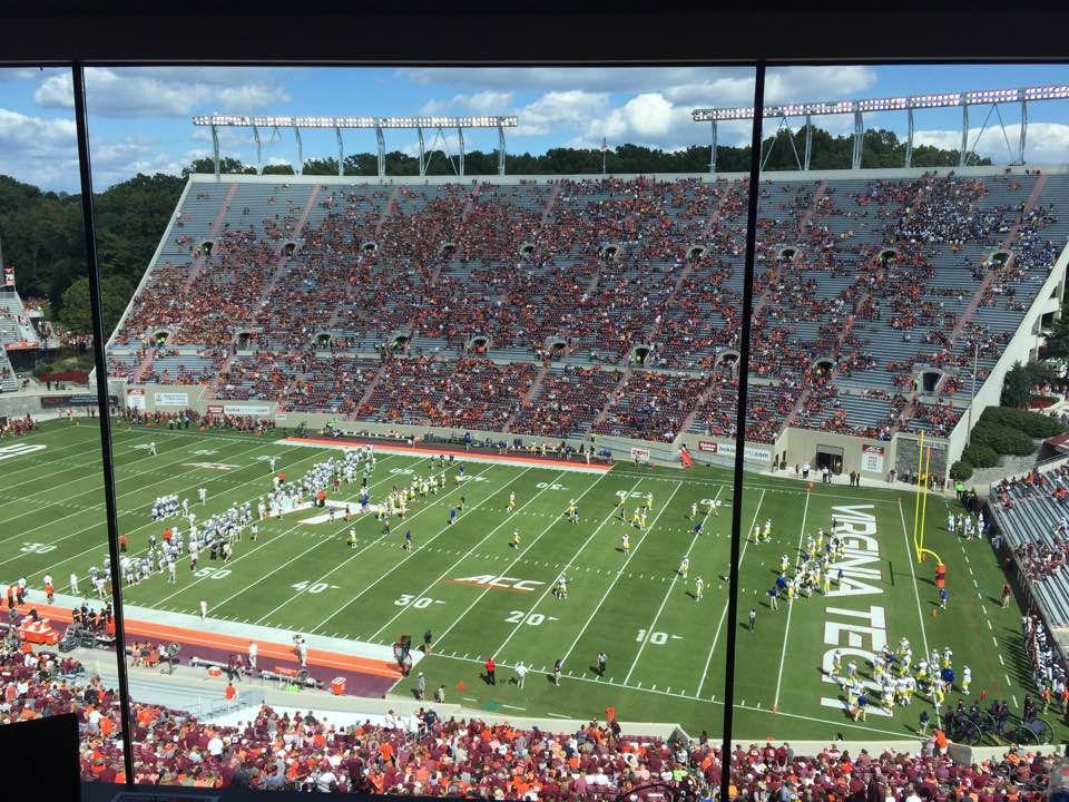 Virginia Tech leads FCS foe DE at halftime