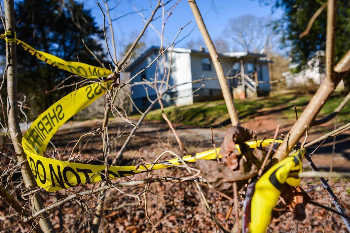 Hurt crime scene