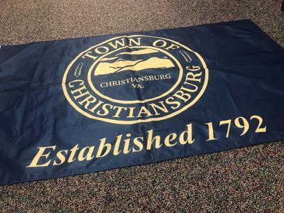 Christiansburg flag