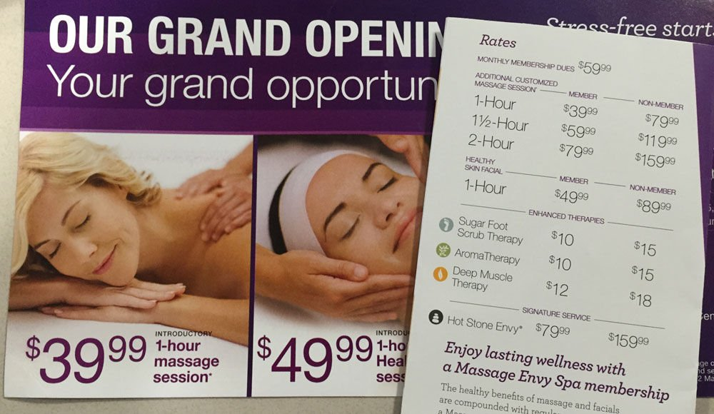 Curious About Massage Envy At Towers Shopping Center