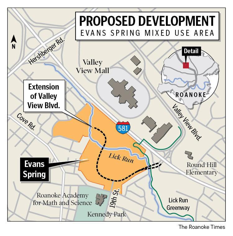 Evans Spring proposed development