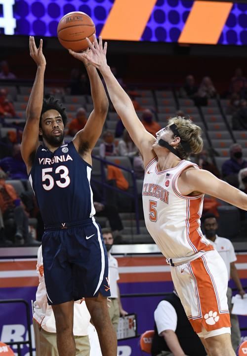 Clemson vs. Virginia basketball