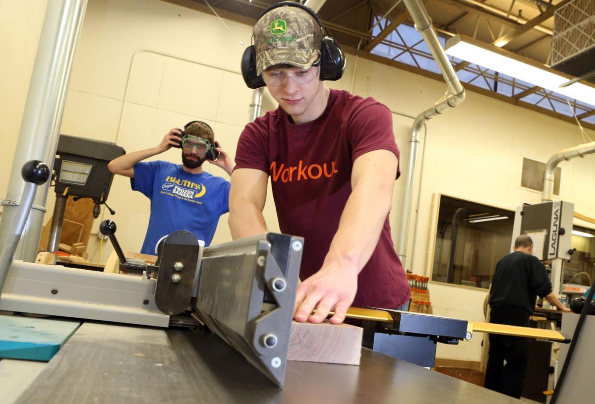 Tech logo creates possibilities for wood enterprise for Table 52 roanoke va