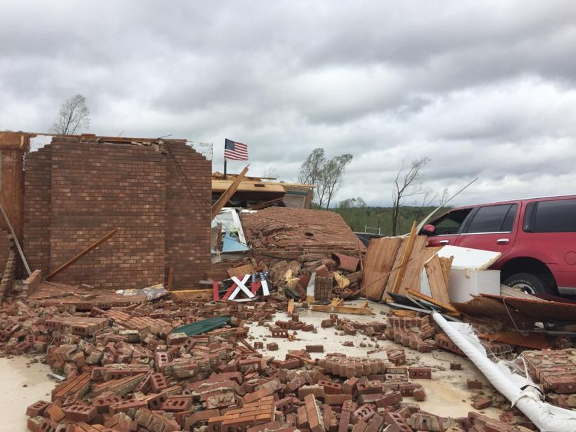 Multiple reports of damage in Franklin County after tornado strike