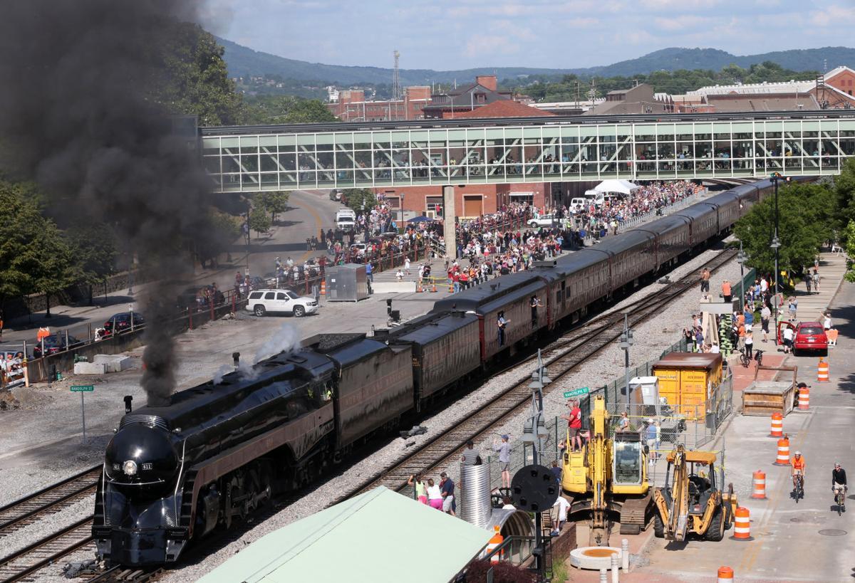 611 steam engine