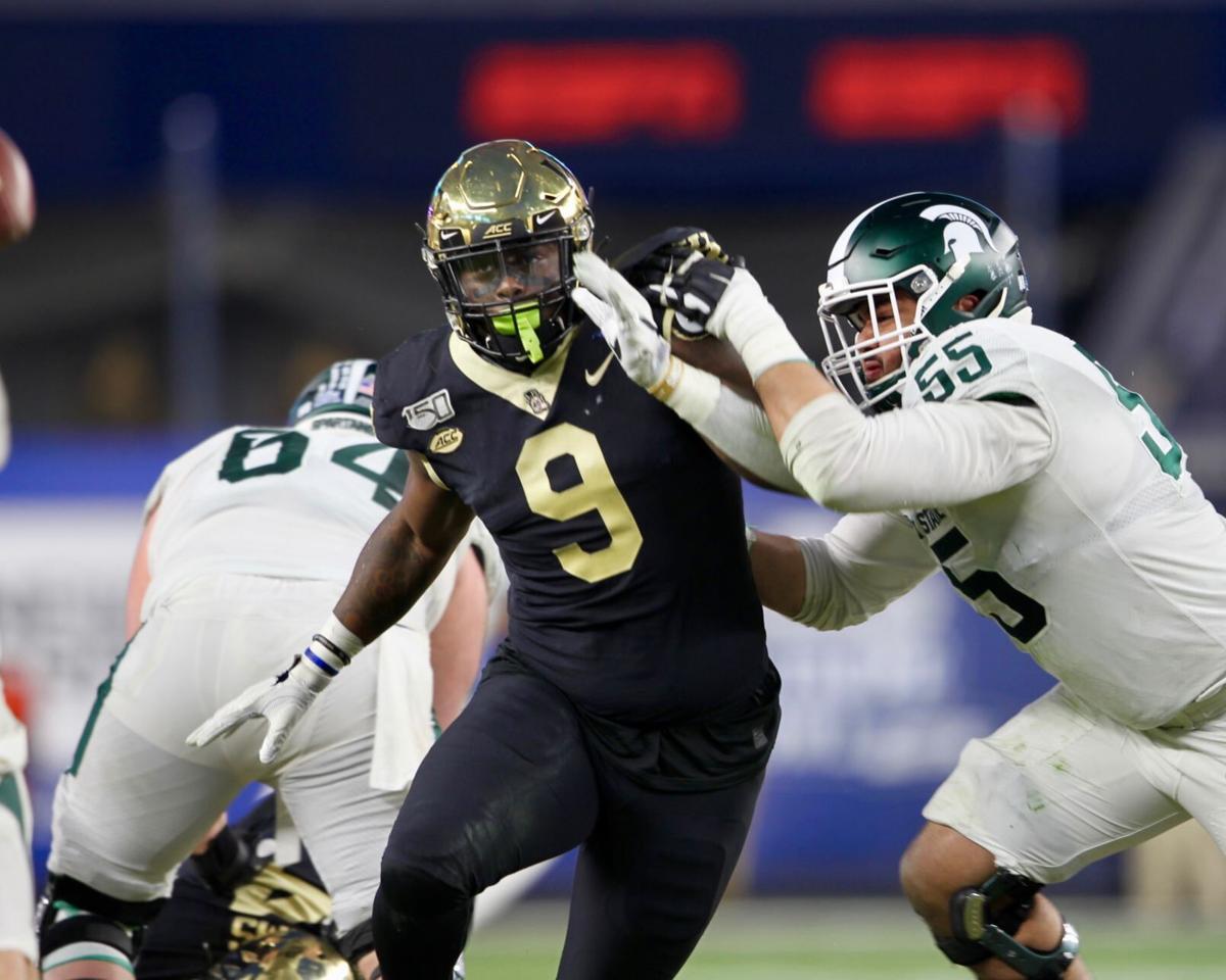 Northside grad Carlos Basham Jr. of Wake Forest declares for NFL Draft |  College | roanoke.com