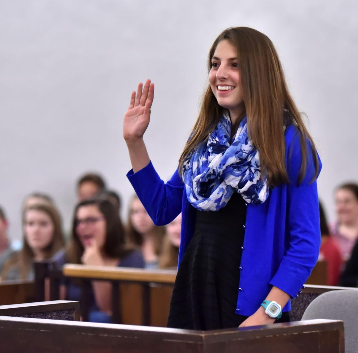 Hidden Valley Middle School students get first-hand