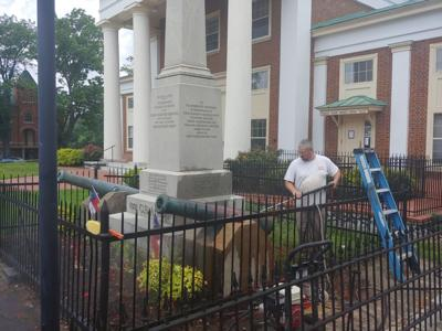 Fincastle Confederate monument