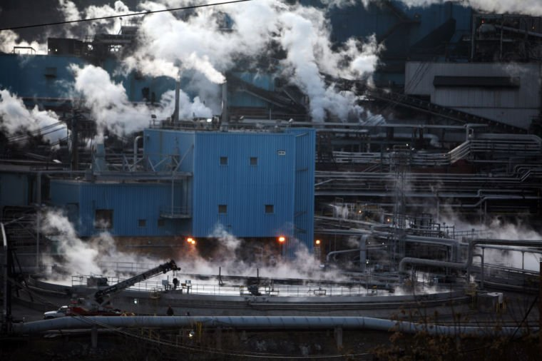 MeadWestvaco paper mill in Covington