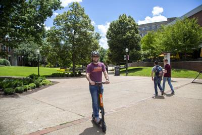 Spin scooter Virginia Tech