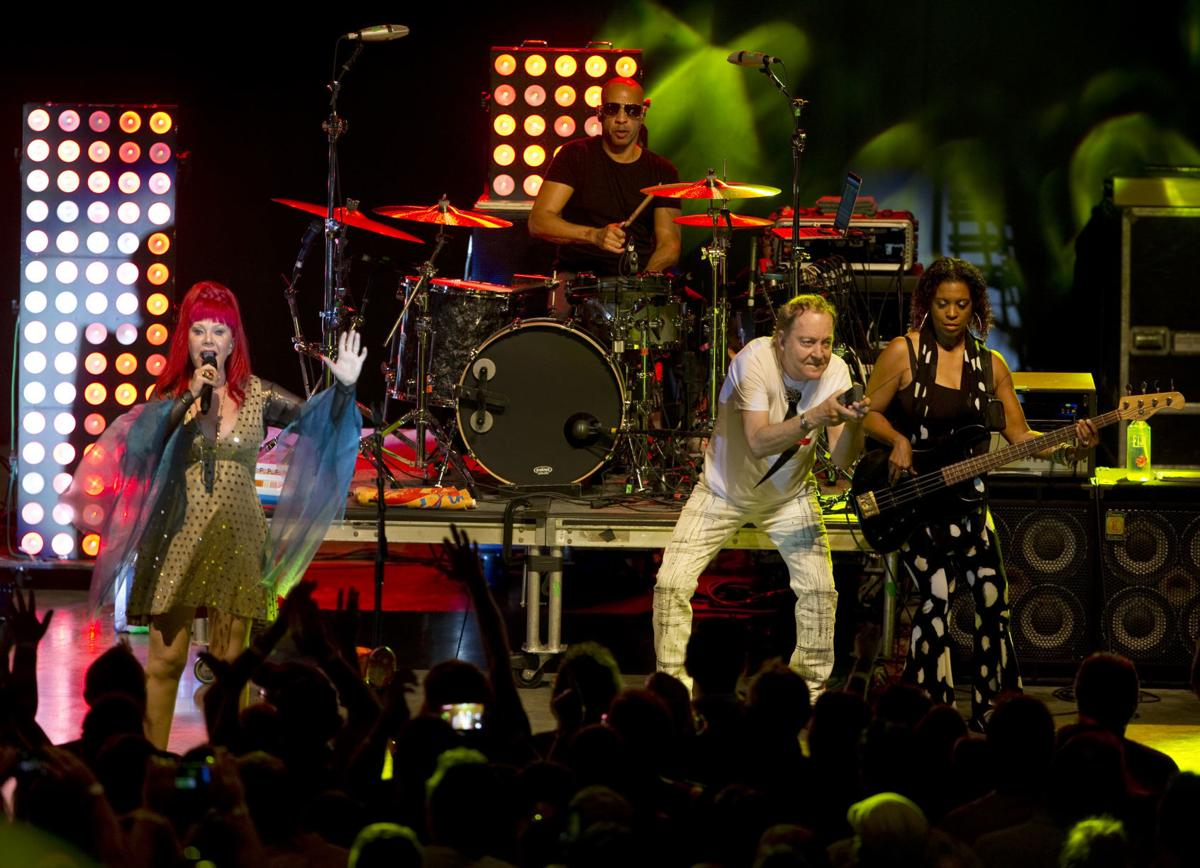 the b 52s band performs at elmwood park features. Black Bedroom Furniture Sets. Home Design Ideas
