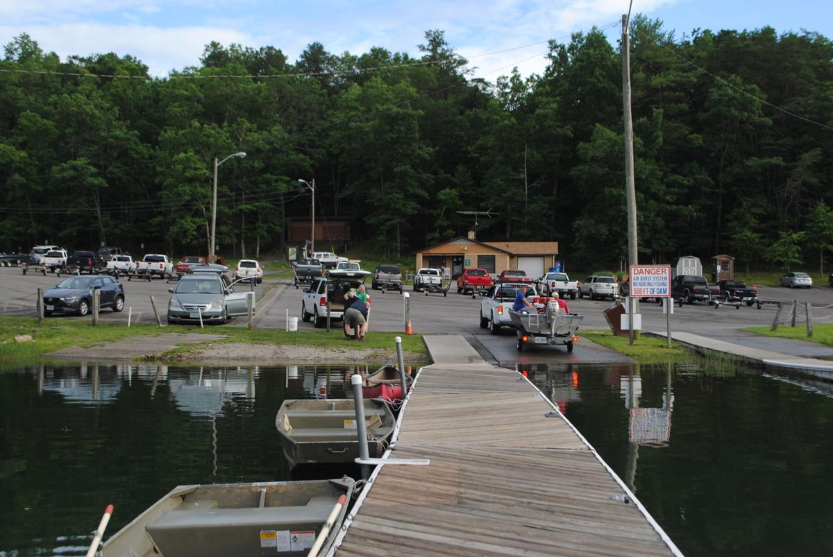 Bill cochran carvins cove night tournament considered a for Carvins cove fishing
