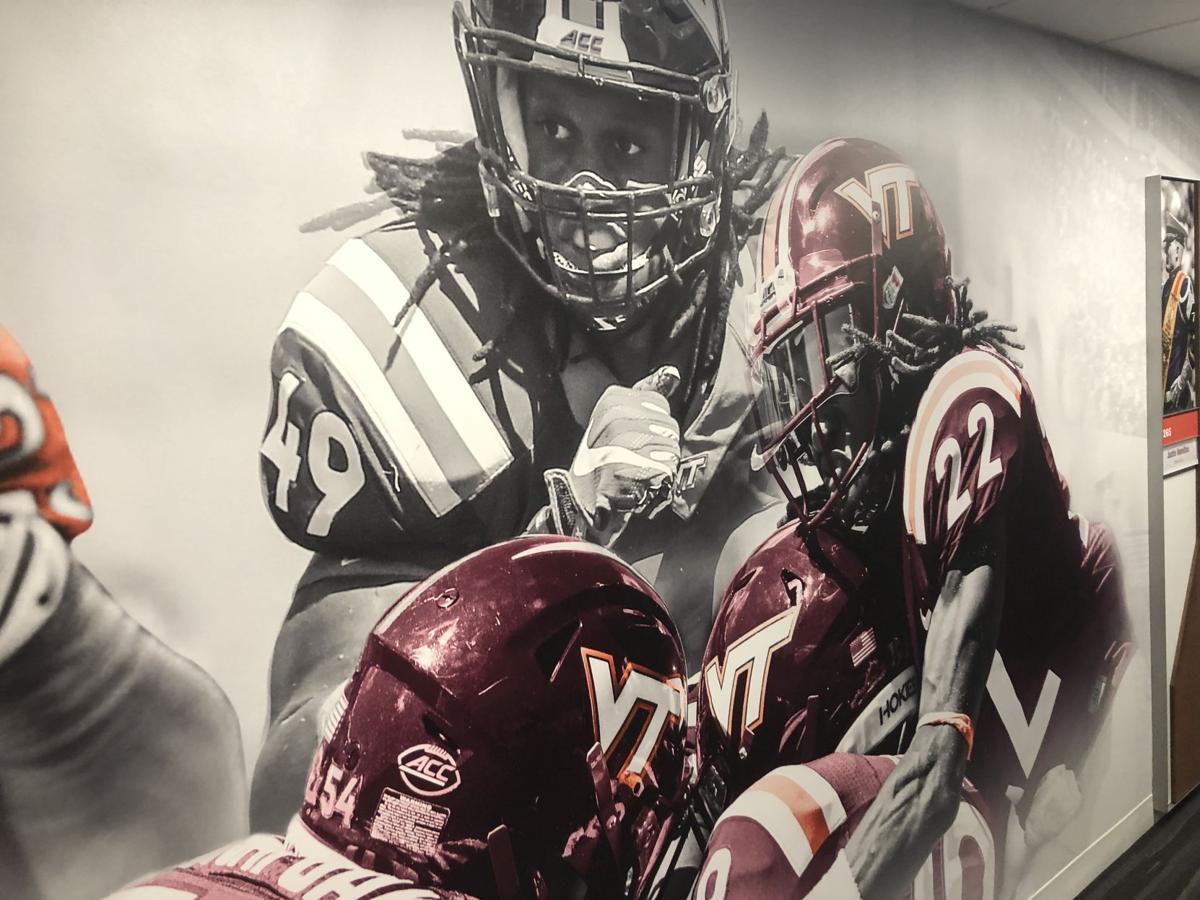 Virginia Tech football offices