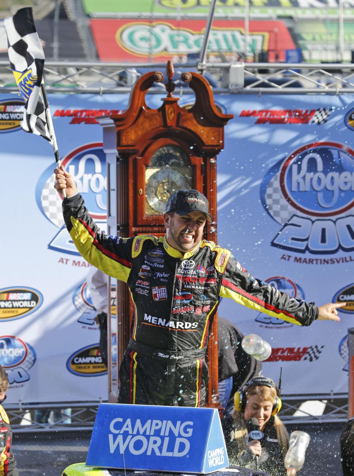 Crafton wins Trucks race at Martinsville | National