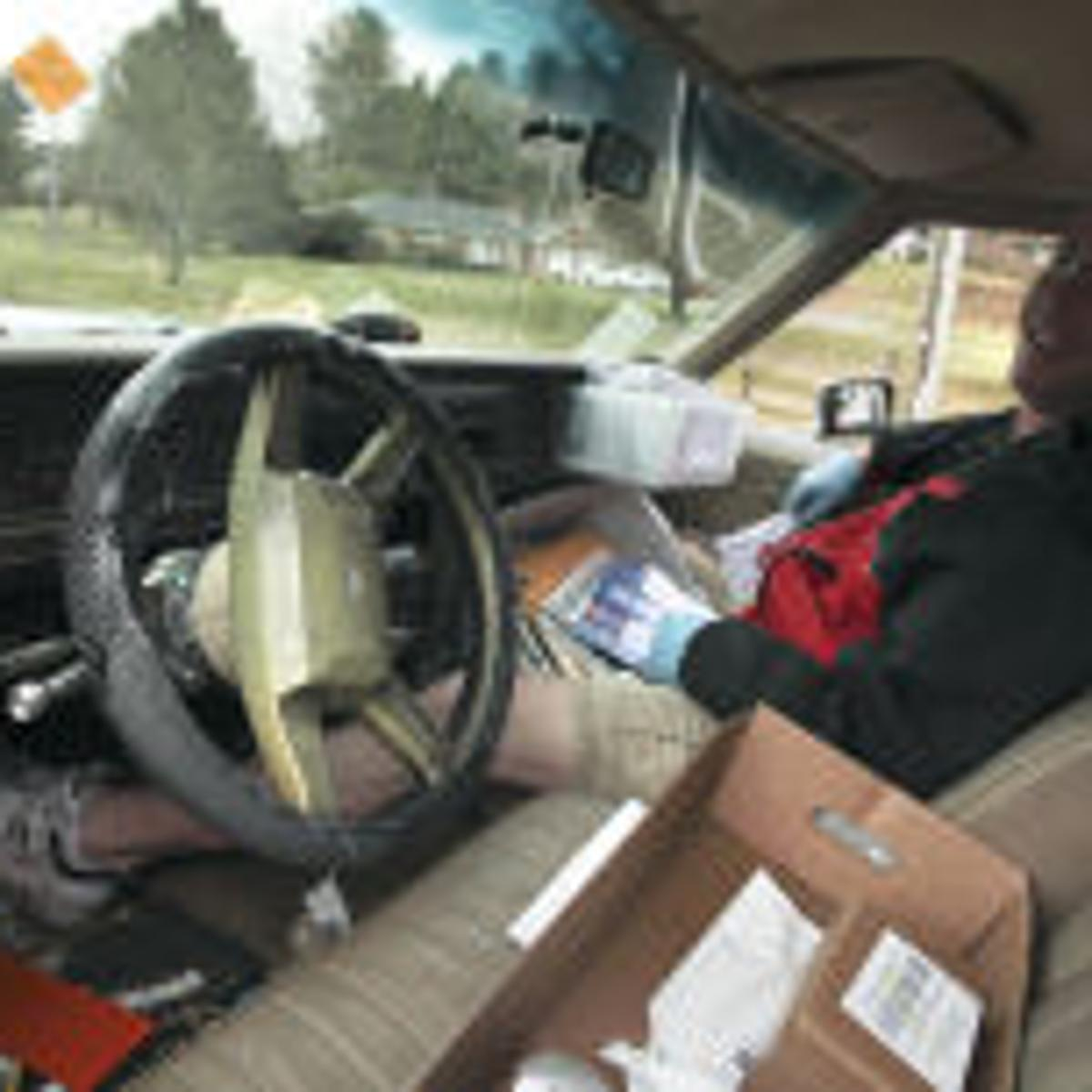 Wrong side' mail drivers push the envelope daily | Archive