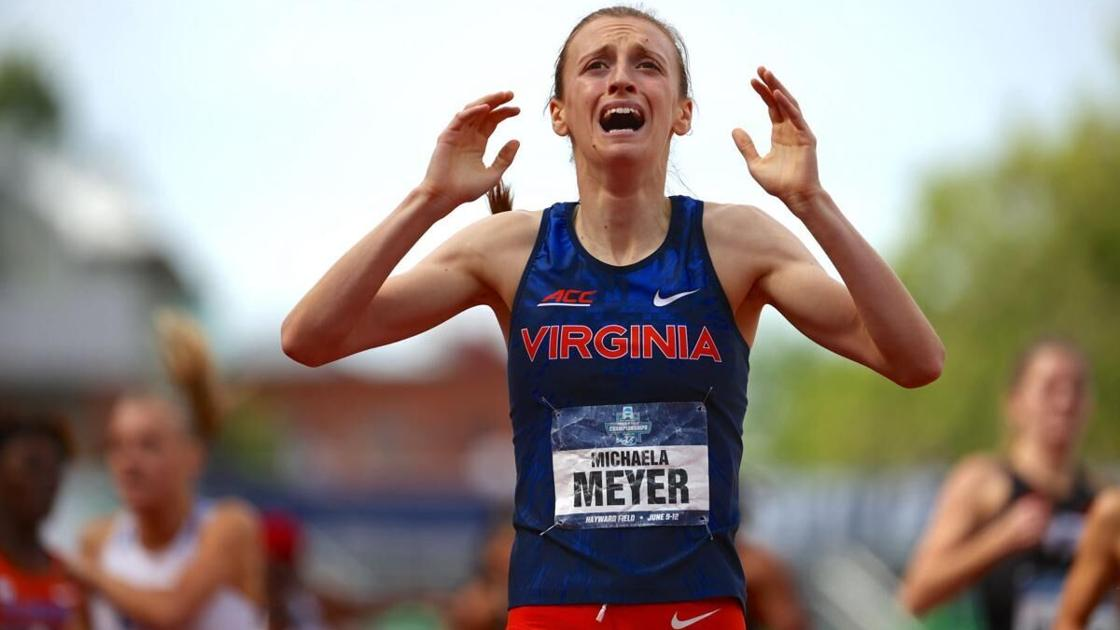 Dyslexia didn't slow down UVA's Michaela Meyer, the school's first female track national champion