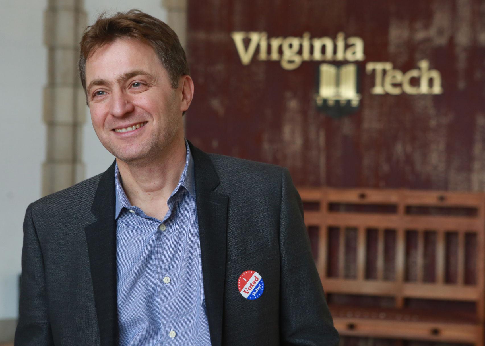 thanassis rikakis Virginia Tech provost announces resignation