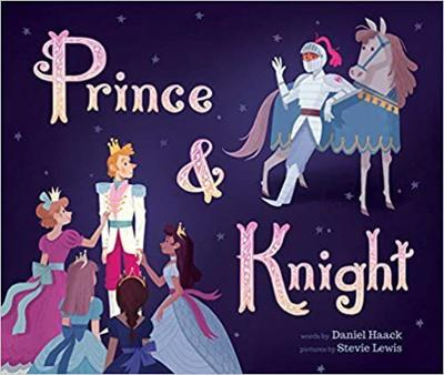 """Prince and Knight"" book cover"