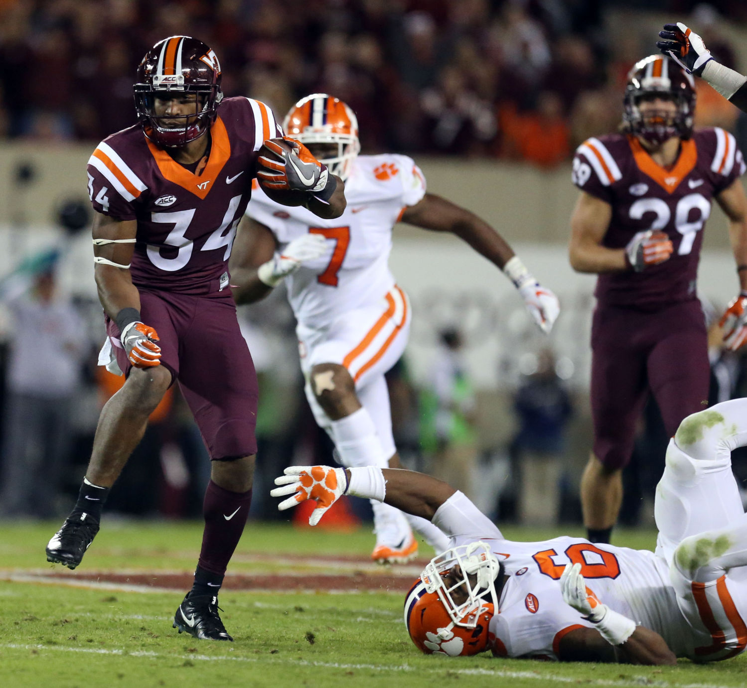 Virginia Tech beats Boston College, 23-10, now 5-1 on season