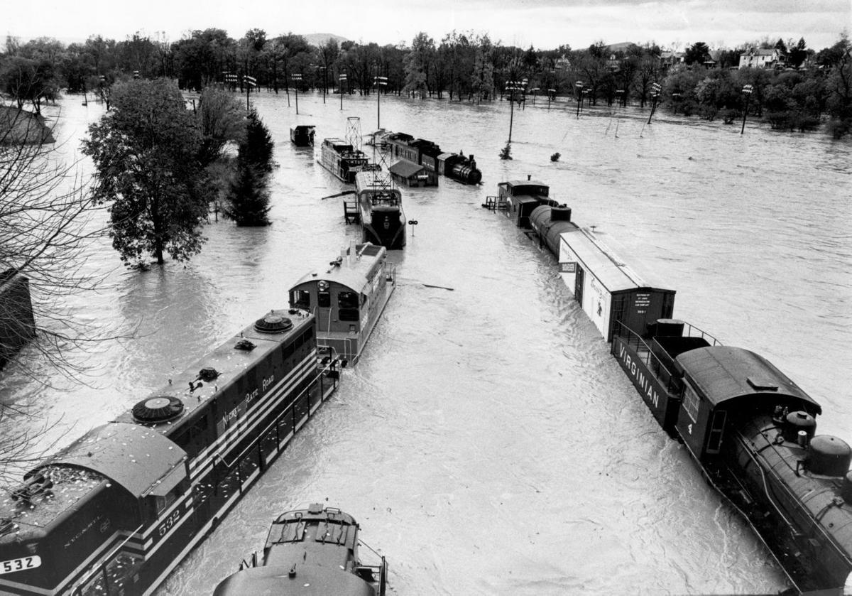 Virginia Museum of Transportation trains flood 110385