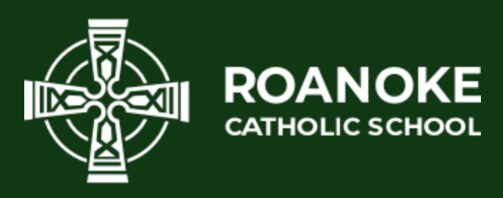 Roanoke Catholic School logo