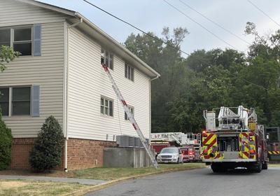 Roanoke fire