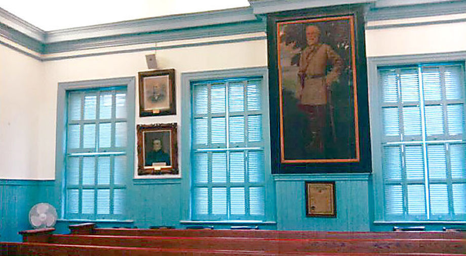 Louisa courtroom
