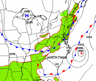 Mostly Dry Not Terribly Hot Week For Sw Va As Tropical Storm Chris