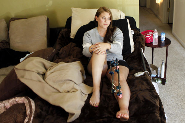 Jail Trainee Battles Back After Knee Injury Nearly Claims