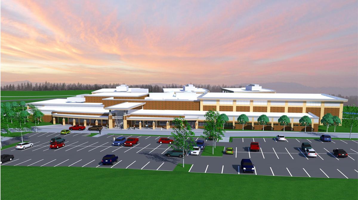 Pulaski County Middle School Rendering