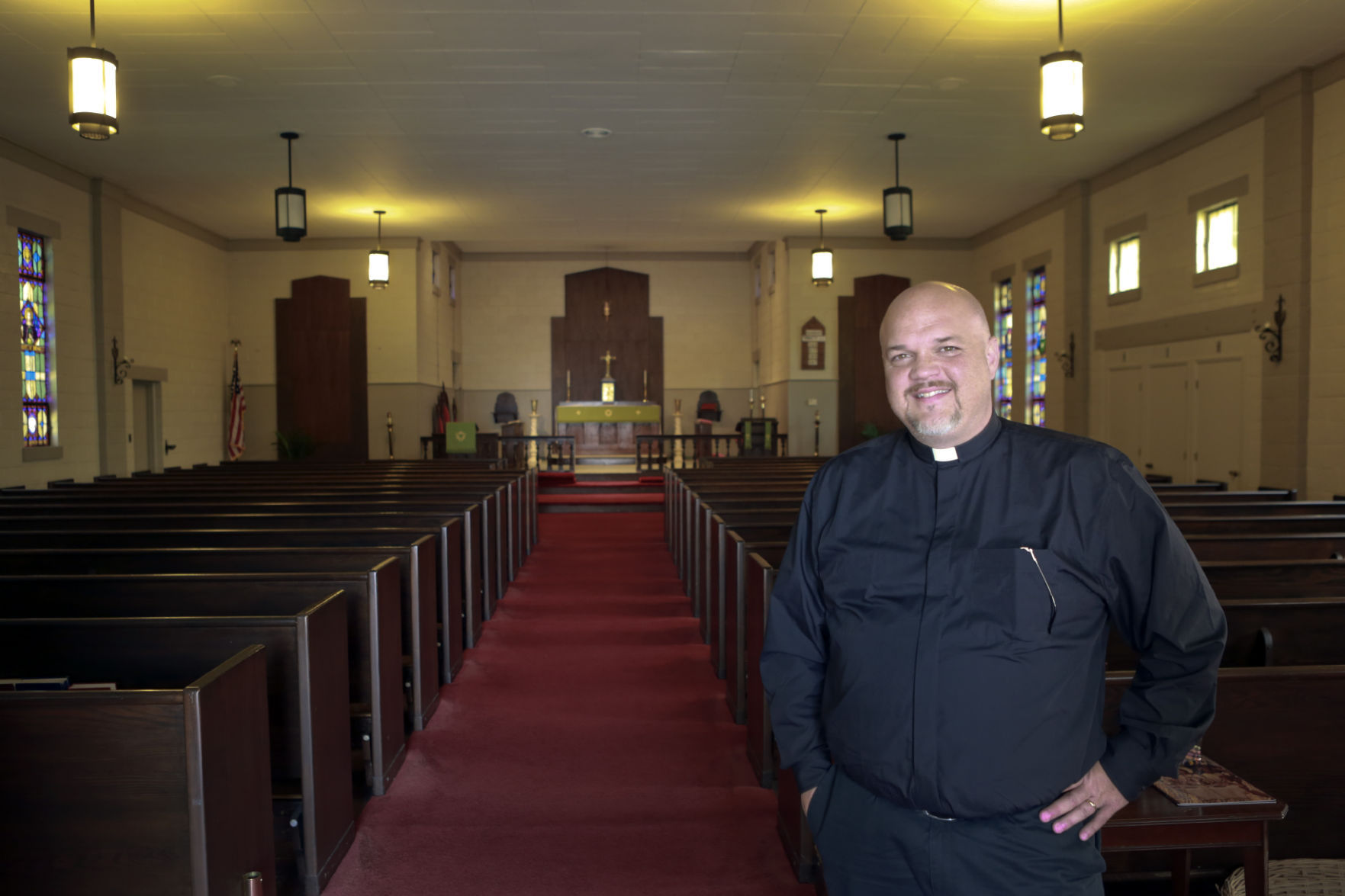 New pastor seeks reboot for Anglican congregation