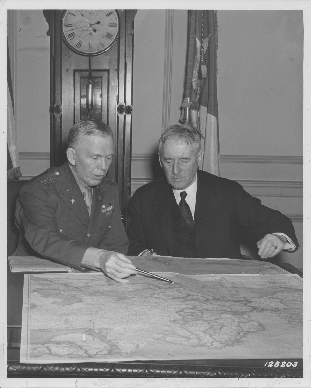Marshall and Stimson