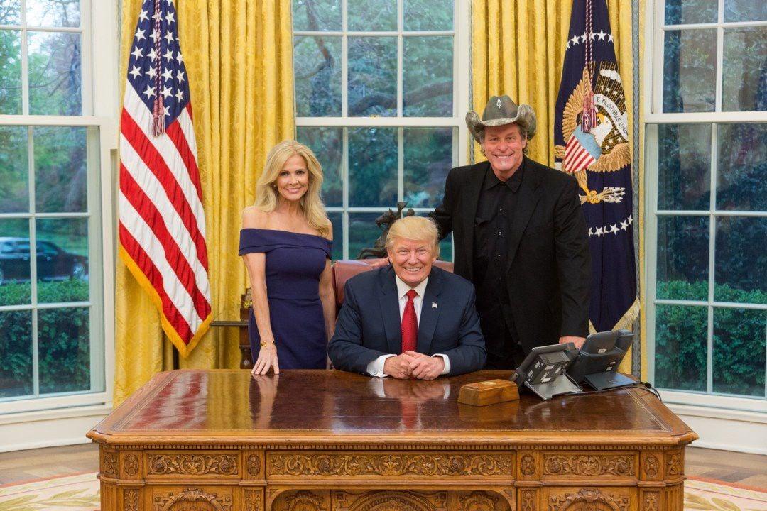 nugent trump white house photo