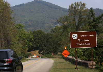 Blue Ridge Parkway closed at Virginia 24