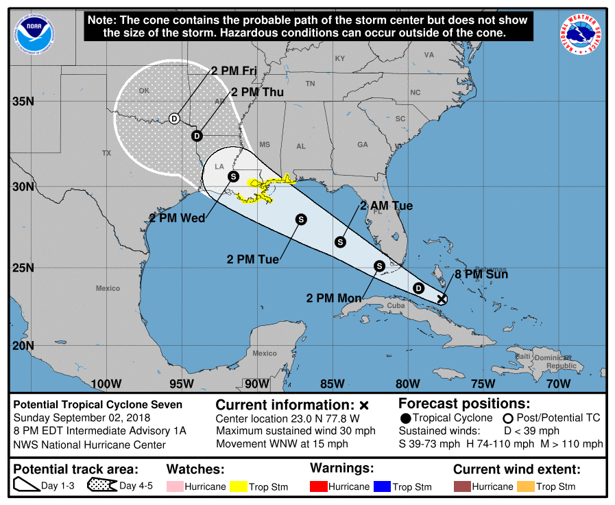 Tropics Stirring With Florence Maybe Gordon But No Likely Effects On Sw Va Anytime Soon