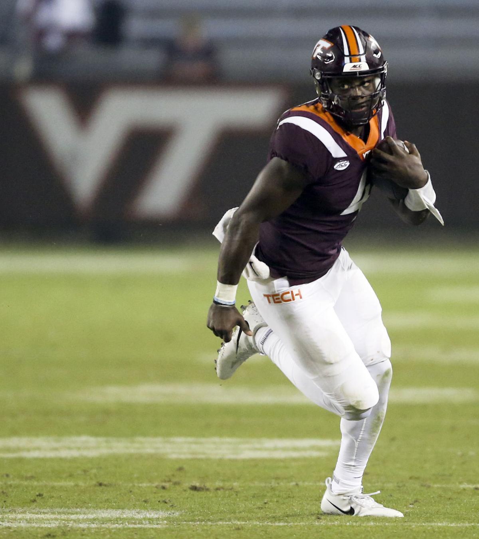Virginia Tech Backup Quarterback Quincy Patterson Enters The Transfer Portal Virginia Tech Roanoke Com