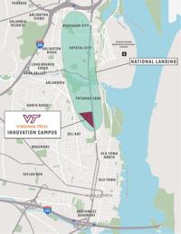 Amazon South Lake Union Campus Map.Inside Project Cooper How Virginia Tech Helped Land Amazon Without